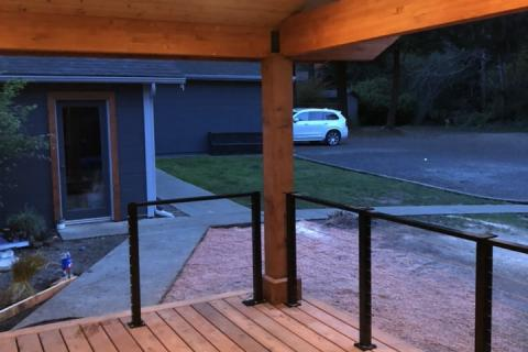 New Covered Porch for Added Curb Appeal
