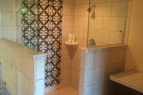 Bathroom remodel, costume shower, walk in shower. tile shower, remodel bathroom