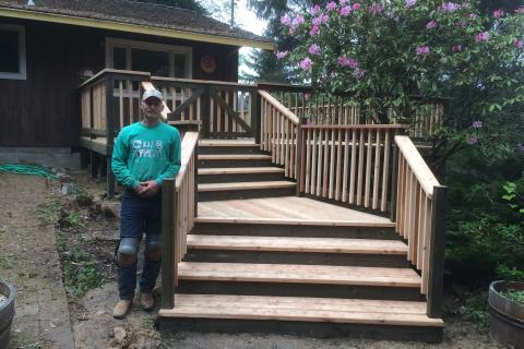 Blaine Sr Lead Carpenter Curb Appeal Construction Eureka Ca