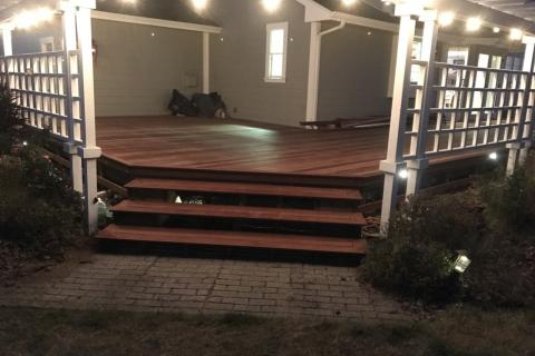 Camaru Decking Brazilian Hardwood Curb Appeal Construction