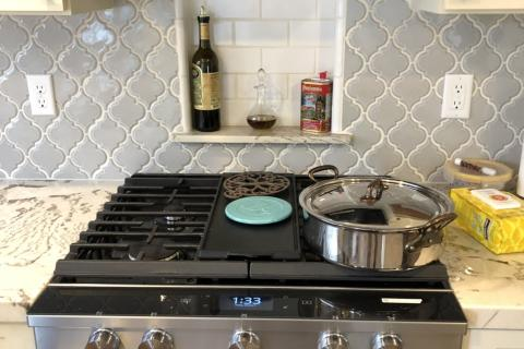 Curb Appeal Construction Kitchen Remodel Mckinlyville Ca With Oil Niche
