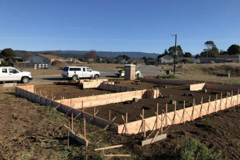 Framing Foundation Curb Appeal Construction New House Builders