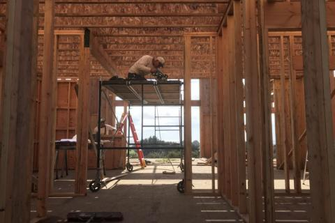 Curb Appeal Construction New House Construction Framing upper walls and floor system
