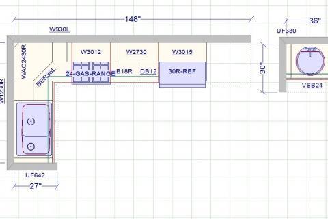 Kitchen Plans Curb Appeal Construction Floor Plan