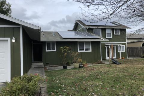 New Siding Board and Batt Hardi Curb Appeal Construction Eureka