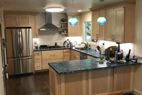 Remodel Kitchen Shaker Hardwood With Sub Way Tile Curb Appeal Construction