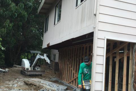 Remodeling new foundation Curb Appeal Construction Eureka Ca